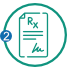 Provide details of the prescription or simply check all prescriptions to be transferred along wtih basic information about yourself