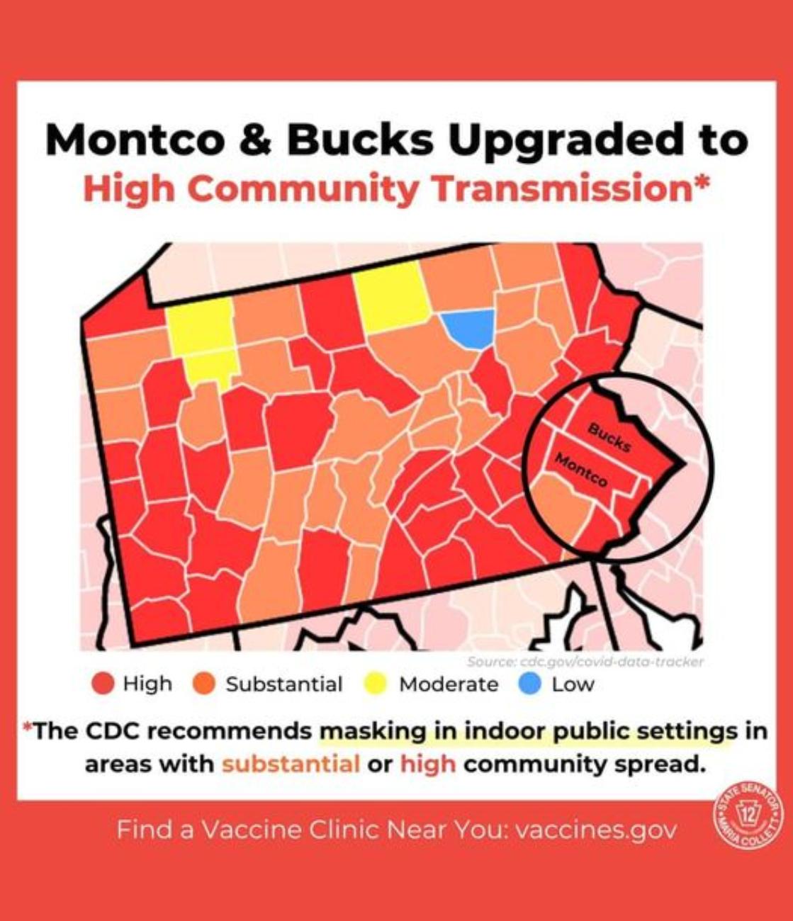 Montco & Bucks upgrade